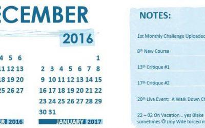 December 2016 Updates