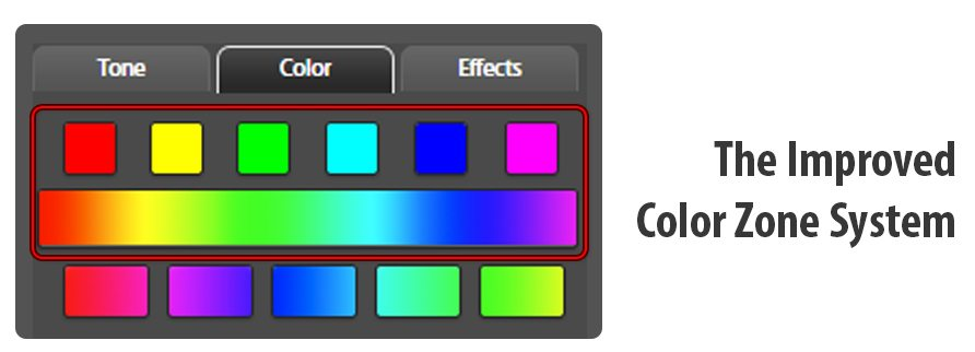 Improved Color Zone System