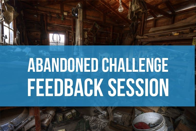 Abandoned Challenge Feedback Session