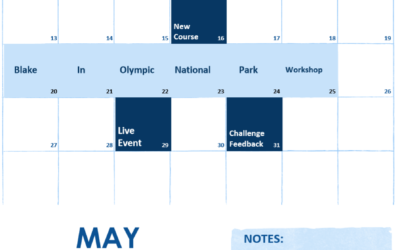 May 2018 Calendar of Events