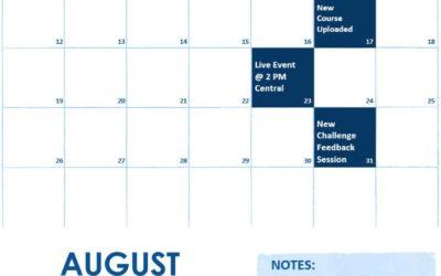 August 2018 Elite Content Update
