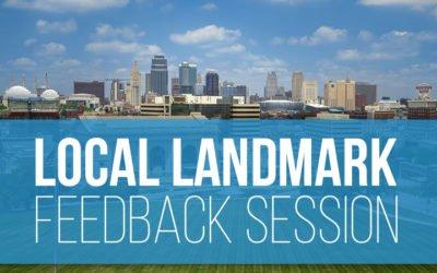Local Landmark Challenge Feedback