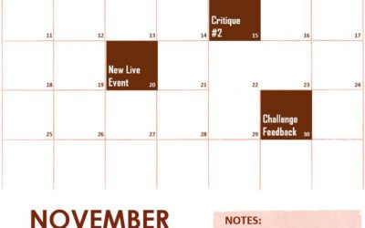November Schedule of Events on f.64 Elite