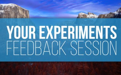 March 2019 Experiments Challenge Feedback