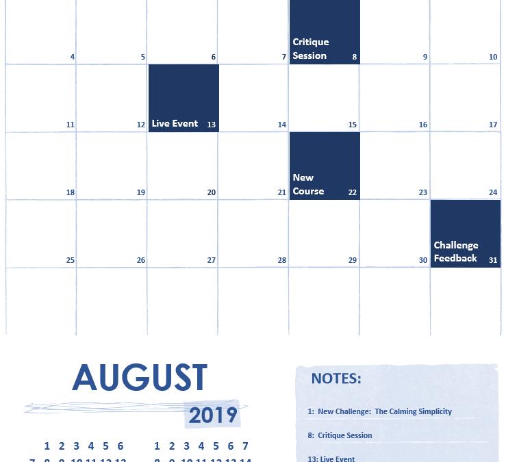 August 2019 on f.64 Elite