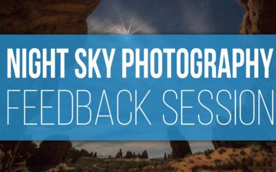 Night Sky Challenge Feedback Session