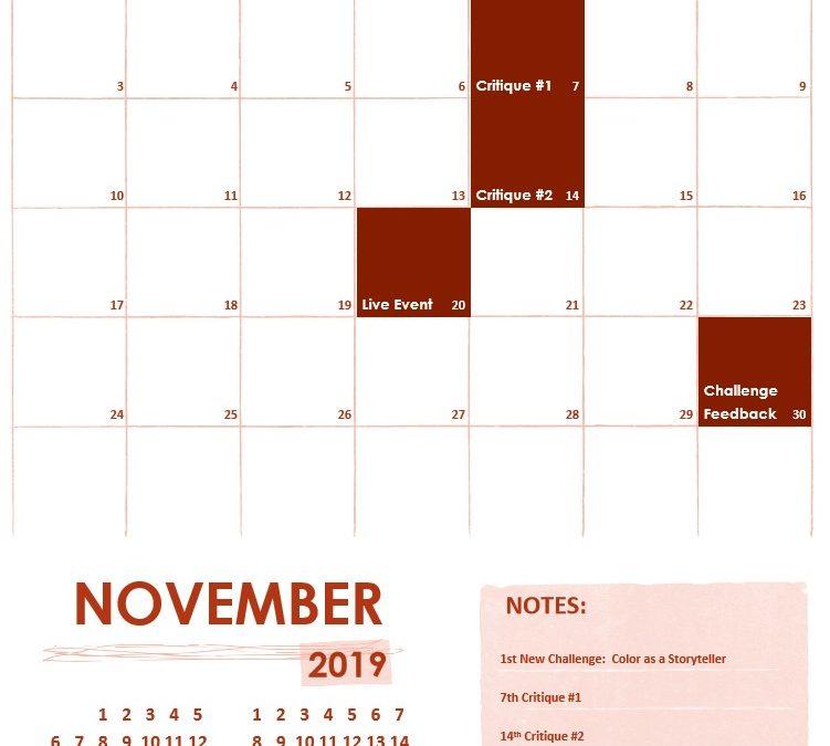 November 2019 on f.64 Elite