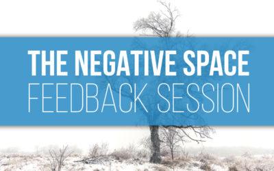 Negative Space Challenge Feedback