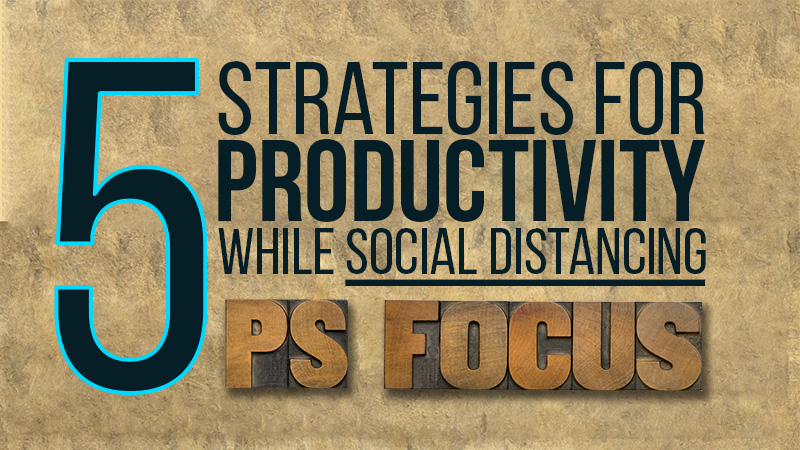 5 Strategies for Productivity Live Event