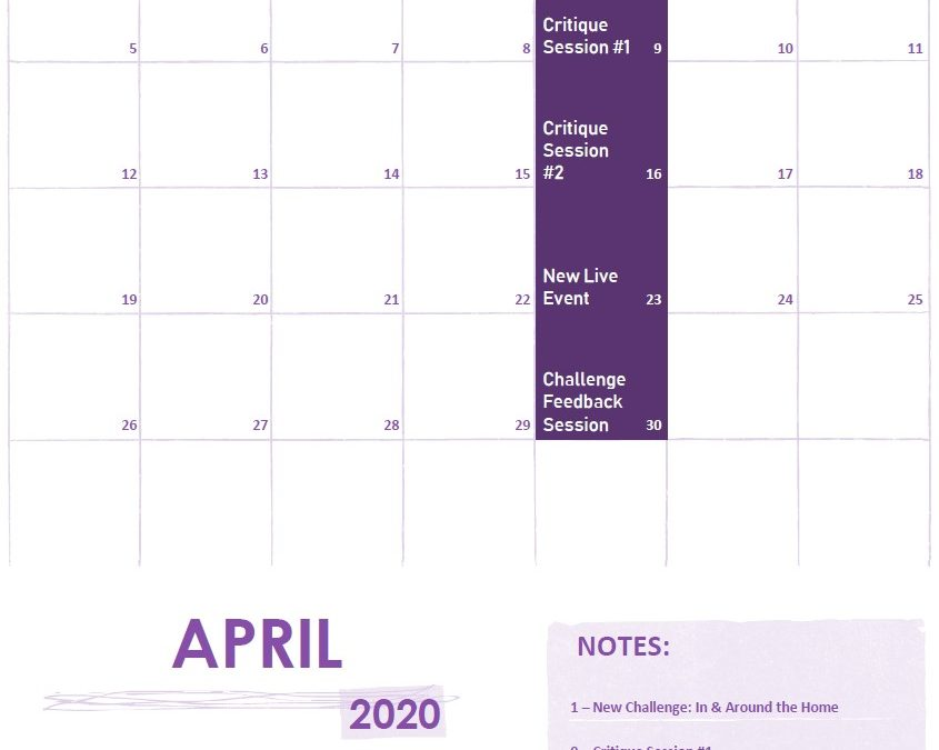 April 2020 on f.64 Elite