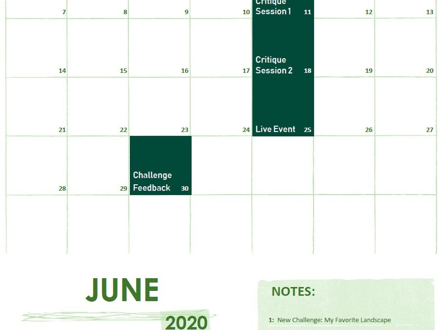 New Content for June 2020 on f.64 Elite