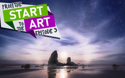 Start to the Art Episode 3: It's Me and the Moon
