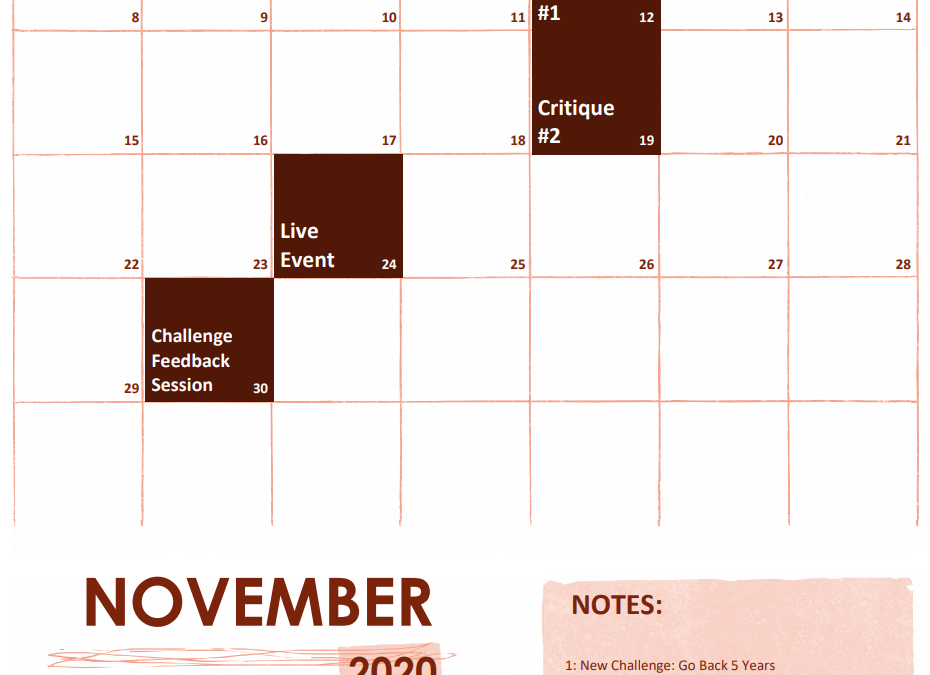 New Content for November-2020