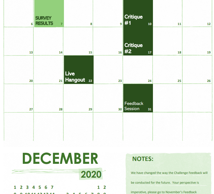 New Content for December-2020